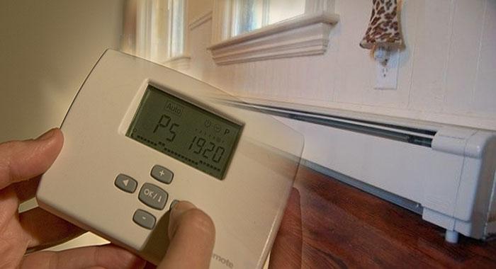 la calefaccion centralizada